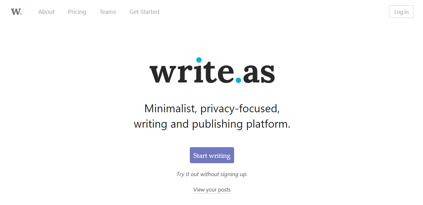 Write.as Review – No Frills, Ad-Free Publishing