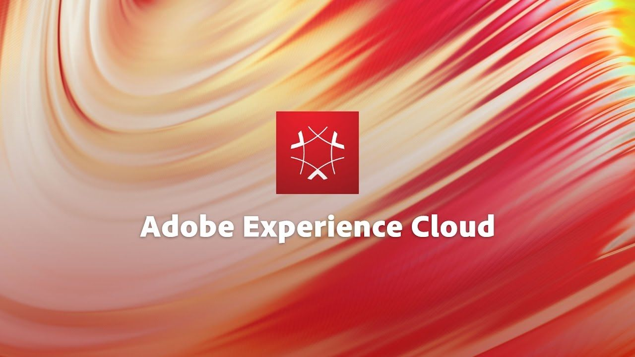 Adobe Experience Cloud text and logo